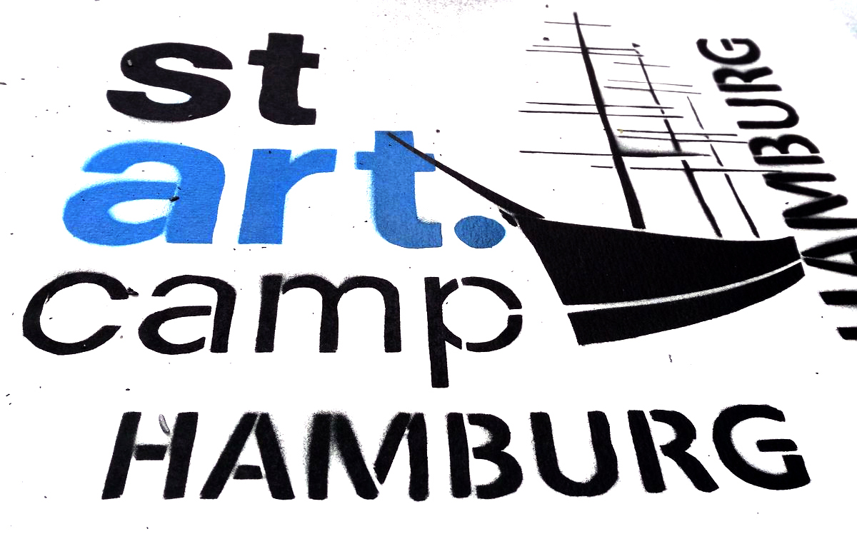 Visual des stARTcamp Hamburg